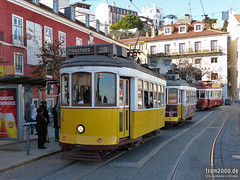 Lissabon (PT) (Robert Leichsenring) Tags: trolley streetcar tramway strassenbahn tramvaj tramwaj трамвай
