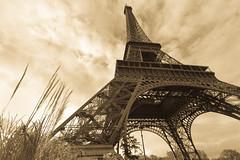 Paris from below