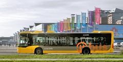 Mercedes Benz Citaro van U-OV in Utrecht (NL) (Vriendelijkheid kost geen geld) Tags: bus mercedes utrecht jaarbeurs ov openbaarvervoer stadsbus croeselaan citaro uov