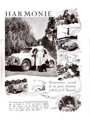 Réalités octobre 1949 - pub 4CV (gueguette80 ... Définitivement non voyant) Tags: auto magazine advertising pub advert salon 1949 octobre publicite réalités
