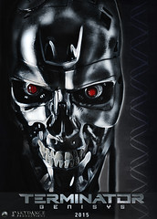 Terminator Genisys poster (photographic-leigh) Tags: pictures film movie arnold schwarzenegger terminator paramount cyberdyne t800 endoskeleton genisys cyberdynesystems terminatorgenisysposter