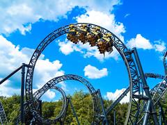 The Smiler (ThemeParkMedia) Tags: park uk tower tourism roller theme coaster alton smiler the