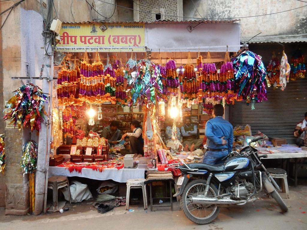 Street shop in Bundi