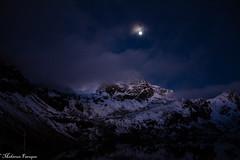the unforgettable night ! (meghla_akashe_pori_:)) Tags: nepal snow night trekking valley himalaya gosaikunda langtlang