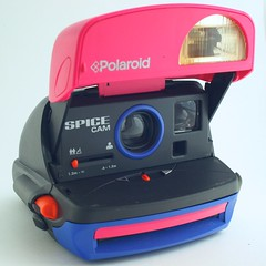 Polaroid Spice Girls Spice Cam (calumwri) Tags: world girls classic film up vintage polaroid antique cam spice retro collection your