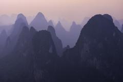 Paradise in haze (adonyvan) Tags: china smog haze guilin yangshuo karst xingping