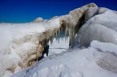 IMG_1636.JPG ((Jessica)) Tags: winter lake chicago ice beach sunny lakemichigan lakeshore icicle icicles lakefront fosterbeach winterwonderland iceformations chiberia