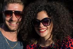 Yehuda & Shani (Poupetta) Tags: strangers shani yehuda florentin