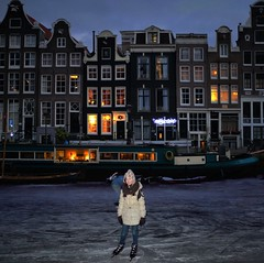 Those were the days of cold in Amsterdam (Bn) Tags: pink blue houses winter people cold holland ice netherlands dutch amsterdam night geotagged lights frozen downtown iceskating skating joy kinderen nederland freezing first romance skaters canals age skate romantic prinsengracht temperature mokum occasion rare grachten pleasure skates blades winters stad harsh jordaan 2012 d66 ijs gluhwein schaatsen koud amsterdamse ijspret hendrick chocolademelk grachtengordel hollandse oudhollands gekte winterse sferen avercamp ijzers ijsplezier jordanezen ijsnota