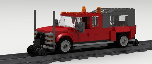 road city classic chevrolet digital america truck work vintage power lego diesel pov designer rail pickup chevy american legos download trucks silverado 1980s v8 1990s dropbox revised povray 3500 ldd lxf roadtorail
