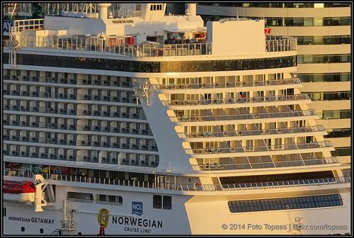 2014-01-11 Rotterdam - Norwegian Getaway - 15