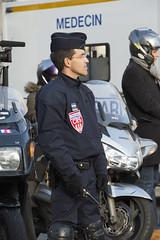 Dispositif de scurit Place Beauvau  l'occasion de la marche rpublicaine contre le terrorisme  Paris (Ministere de l'Intrieur) Tags: protection gendarmerie policenationale placebeauvau marcherepublicaine