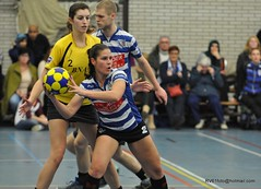 BW_Dalto_150207_49_DSC_6026 (RV_61, pics are all rights reserved) Tags: amsterdam korfbal blauwwit dalto korfballeague robvisser rvpics blauwwithal