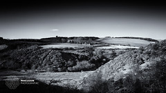 The Brunt (MacLeanPhotographic) Tags: blackandwhite mono scotland farm hill glen burn fujifilm dunbar eastlothian spott lee09ndgrad thebrunt woodhallburn