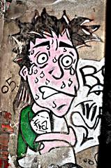 Paura Eh!? (STEVE BEST ONE) Tags: street italy streetart art abandoned italian nikon italia fear places exploration brianza lombardia lecco 2012 paura abandonedplaces d90 consonno olginate