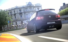 GT6 | Volkswagen Golf VI R '10 | Circuito de Madrid (GTAndy36-) Tags: madrid 6 golf volkswagen de driving racing virtual r driver gran turismo playstation vi racer circuito ps3 photomode