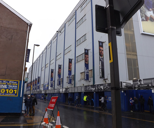 Outside Goodison Park