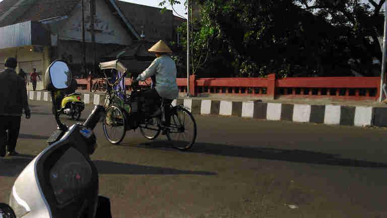 Becak in Bogor