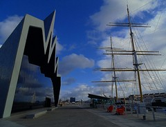 glen lee (MC Snapper78) Tags: reflections reflecting scotland riverclyde glasgow sony transportmuseum glenlee marilynconnor