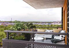 Elineberg - balkong