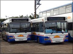 Horizon (RX51 FNV) / (Y661 NLO) (Colin H,) Tags: new travel bus london ex pointer horizon ds dennis essex dart dt fnv pointers 2015 slf nlo metroline ibp plaxton rx51 170115 ipswichbuspage rx51fnv colinhumphrey y661nlo y661 horizonbus fratingdepot
