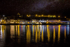 Whitby Harbour Lights.