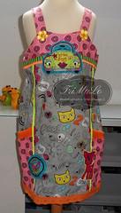 Estelle (TriMaLo #IndiWieDuelles {Web:Design;}) Tags: tags estelle farbenmix tunika glitzerblume