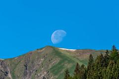 De maan boven Bichlbach (Richard van Hilten) Tags: austria oostenrijk thealps bichlbach dealpen