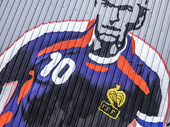 Zinedine Zidane (Mabry Campbell) Tags: 10 1stward 2016 firstward h5d50c harriscounty hasselblad houston july mabrycampbell texas usa unitedstates zinedinezidane colorful commercialphotography faces famous fineart fineartphotography image number10 painted photo photograph photographer photography soccerplayer sport sports wall wallart f71 may 2014 may102014 20140510h6a5246 24mm 150sec 100 tse24mmf35l fav10
