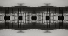 el puente cosmico (ojoadicto) Tags: abstract abstracto monochrome espacial digitalmanipulation intervenciondigital artisticphotography