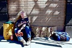 Rainy (MattTomas) Tags: portland pdx people portrait homeless human color fujifilm xt10