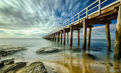 Point Lonsdale (shivan) Tags: pointlonsdale nisi10stop ndfilter d7000 tokina1116mm longexposure pier blue skies point lonsdale