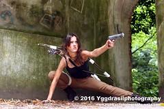 Tomb Raider Shoot with Annick 25 (berserker244) Tags: yggdrasilphotography60072016 guerrillaphotography yggdrasilphotography evandijk annick annickscosplay laracroft tombraider riseofthetombraider grebbeberg rhenen