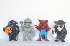 """Coleco """"Monstros"""" (2003) - Srie 2 - Maia & Borges (vintage.dolls) Tags: vintage toys pvc rubber monstros maia borges 2003 portugal"""