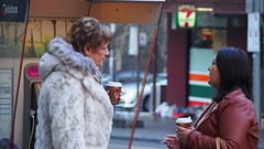 Morning Coffee (Ross Major) Tags: street people coffee melbourne victoria