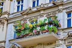 Berlin 2015 - 256 Landwehrkanal, Fraenkelufer (paspog) Tags: berlin landwehrkanal allemagne deutschland germany fraenkelufer balcons balconies balcon balcony