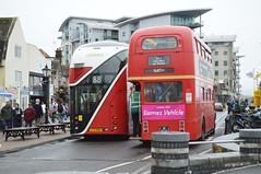 London Rears (PD3.) Tags: uk england bus london buses ahead 5 go quay more dorset routemaster wright bournemouth 60 poole lt rm centenary 1005 aec hants clt 1060 goahead wrightbus ltz nbfl newroutemaster morebus lt60 rm1005 5clt borismaster ltz1060