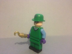 The Riddler idea (captaincustom/collector) Tags: lego batman riddler dc idea question edvard nygma enygma