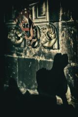 st john the baptist knaresborough 9 (ian.meekham) Tags: shadow texture church wow dark nikon yorkshire negativespace 105 lightshadow soe tone lightandshadow autofocus 105mm nikon105mm churchinteriors yorkshirechurches nikond750
