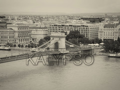 Szechenyi Chain Bridge, Budapest, Hungary (kalypsoworldphotography) Tags: szechenyi chainbridge suspension bridge river danube buda pest anchored hungary budapest europe chain city architecture cityscape landmark building capital historic urban town european sky tourism old destination landscape crossing tourist culture day heritage picturesque touristic style scenic visit connection structure royal unesco pylon aerial downtown transportation cloudy crowd monochrome