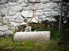 Holy Roller (real ramona) Tags: church graveyard wall devon roller dartmoor grasscare