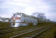 CB&Q E9 9985B (Chuck Zeiler) Tags: cbq e9 9985b burlington railroad emd locomotive naperville dinky train chz