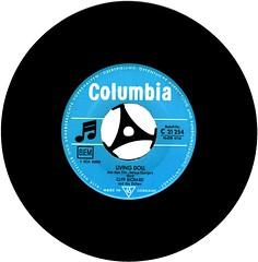 5 - Richard, Cliff - Livin' Doll - D - 1959- (Affendaddy) Tags: vinylsingles cliffrichard livingdoll apronstrings emi electrola c21254 germany 1959 britishrocknrollandpopmusic collectionklaushiltscher