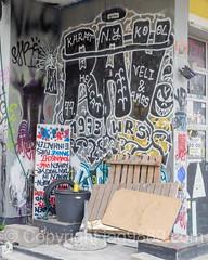 Graffiti at Koch Areal (occupied building), Zurich-Albisrieden, Switzerland (jag9889) Tags: 2016 20160721 activist architecture art artist building ch cantonzurich circus europe graffiti helvetia house mural outdoor publicart schweiz streetart suisse suiza suizra svizzera swiss switzerland tagging ubs zurich zrich jag9889 occupy