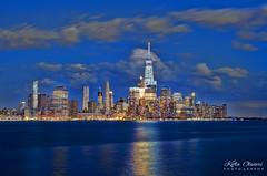 Manhattan (Kofla Olivieri) Tags: hoboken newjersey pier1park manhattan newyorkcity downtown skyline architecture nyc adobephotoshopelements topazadjust photomatixpro hdr hudsonriver oneworldtradecenter freedomtower