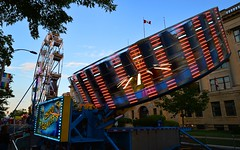 London, ON - Zero Gravity (cnmark) Tags: canada london ontario victoria park carousel roundabout carrousel merrygoround dusk light fast spinning attarction zerogravity allrightsreserved