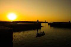 It's a brand new day (Costigano) Tags: sun sunlight dawn sunrise harbour boat sea seascape water waterscape lagos algarve portugal marina