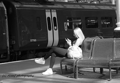 Lovely looking lady waiting for her train. (MAMF photography.) Tags: art blackandwhite blackwhite britain bw biancoenero beauty blancoynegro blanco blancoenero candid city dark england enblancoynegro eastyorkshire flickrcom flickr google googleimages gb greatbritain greatphotographers greatphoto hull hu1 hullparagonstation inbiancoenero image mamfphotography mamf monochrome nikon noiretblanc noir negro north nikond7100 northernengland photography pretoebranco photo people sex schwarzundweis schwarz railway railwaystation train travel uk unitedkingdom upnorth yorkshire zwartenwit zwartwit zwart