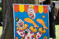 showmens rest. august 2016 (timp37) Tags: sign clown illinois showmens rest august 2016 forest park woodlawn cemetary