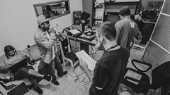 Profeta, Dj Tiu X & Besouro Anmico (Jonathan Fernandes.) Tags: rap nossa conferncia diadema organizao qi submundo90 profeta projeto pandora